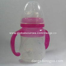 Silicone Baby Bottle with EN14350/FDA Mark, Odorless and DurableNew