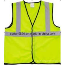 100% Polyester Reflective Vest Safety (HL-SC15) /Most Popular En471 Class 2 / Ce High Visibility Reflective Safety Vest