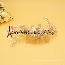 Venta caliente Pearl Headband boda Rhinestones Accesorios nupciales del pelo Headwear