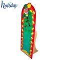Brinquedos do cartão ondulado da promoção e pessoa de pé para crianças