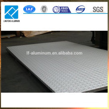 Billig Preis 3mm Anti-Rutsch geprägt Aluminium Checker Platte Blatt