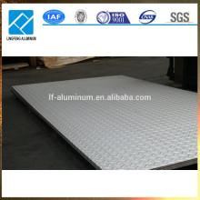 Barato 3mm anti deslizamiento en relieve hoja de aluminio placa de control