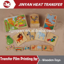 hot sale film heat transfer for wooden toys