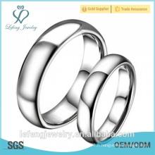 Haute qualité, bijoux à anneaux intelligents, bagues en carbure de tungstène polies à la mode