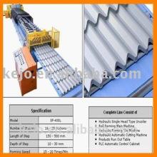 Verglaste Fliese Dach Kaltwalze Umformmaschine