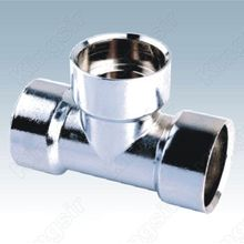 Glanzend verchroomd Pipe Fitting