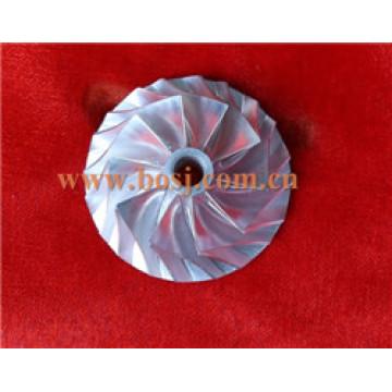 High Performance Gtx3582 Turbo Billet Compressor Wheel 9833-2 CNC Machined Wheel Fit Gtx35 OE Turbo/Chra 82.36*62.45/ 11 Blades USA