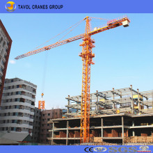 China 6t Tower Crane 55m Jib con 1.3t Tip Load Qtz80-5513 Tower Crane