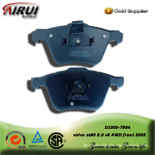 semi-metallic brake pad for volvo xc90 3.0 v6 AWD front 2003