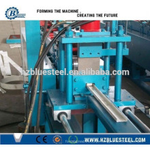PLC CNC Automatic CZ Metal Stud And Track Rollformer Drywall Com preço barato, alumínio C & Z Stud And Track Making Machine