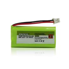 Перезаряжаемые Ni-MH батареи, типа AAA 2.4 в 600 мАч для беспроводной Телефон alibaba экспресс