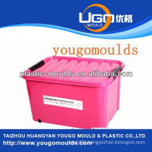 the beer plastic storage container moulding supplier and injection tool box mould yougo mould