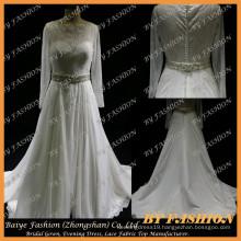 Designer-Bridal-Gown-Patterns-Muslim-Wedding-Gown-Latest-Bridal-Dress-Designs BYB-14580