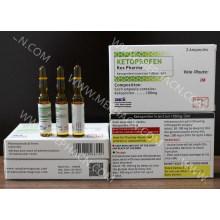 Готовая медицина Кетопрофен инъекции