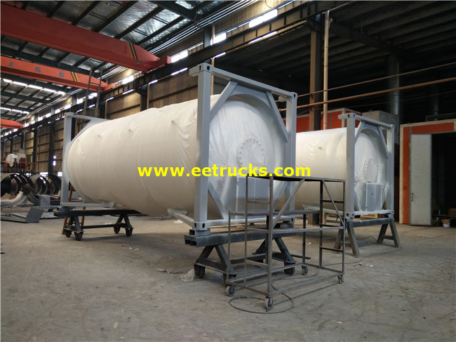 40cbm LPG Tank Sealed Containers