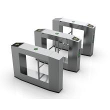 Puerta de torniquete de oscilación electrónica de acero inoxidable