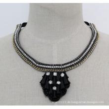 Damen-Qualitäts-Mode-Kristall-Kragen-Halskette (JE0177)
