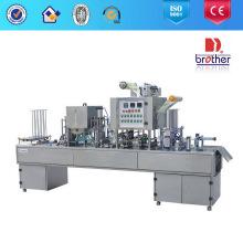 Máquina automática de selagem de preenchimento de copos (modelo automático)
