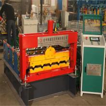 Petit pain de rabattement en acier coloré de courbe d'Aluzinc formant la machine