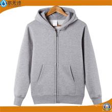 OEM Men Winter Fleece Lining Hoodie Outwear Sweatshirt Hoody