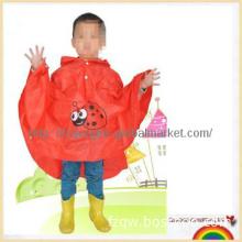 New cartoon pvc rain poncho for kids