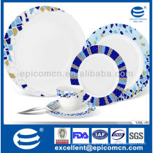 2014 new arrival kitchen set Chinaware Avon audit factory