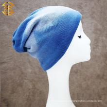 Diseña los sombreros de lana baratos de los hombres del algodón del gradiente