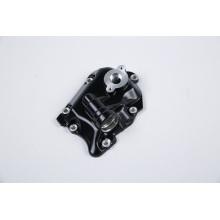 Moulage sous pression en aluminium du couvercle de la boîte de vitesses du moteur de moto