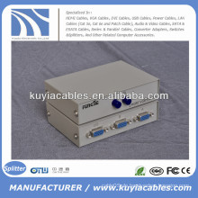 Handbuch 2 Port VGA Switch Box VGA Monitor Sharing Switch Box Adapter