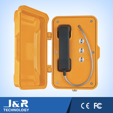 Voip Telephone, Vandal Resistant Emergency Intercom, Handset Handsfree Industrial Telephone