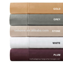 Madison Park 600TC Pima Cotton Sateen Sheet Set