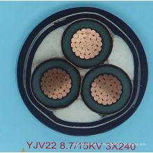 Строительный силовой кабель с CU / XLPE для Африки
