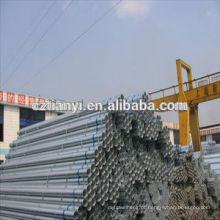 ASTM A53 SCH40 Tubo de aço soldado galvanizado