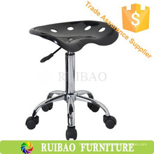 New Style Cheap Bar Furniture Plastic Bar Stools with Caster, ABS Barstool