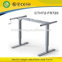 Perna de mesa portátil com altura ajustável
