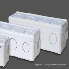 Taizhou huangyan OEM Custom PVC Plastic Electrical Junction Box Mould with good quality