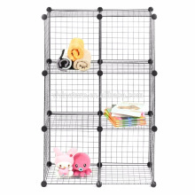 VIVINATURE Metal Wire Mesh Storage Basket Shelf