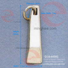 Trapezium Zipper Puller / Slider (G18-449AS)