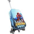 человек-паук тележки мешок школы в Ева