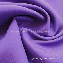 Pongee fabric, glazed surface, waterproof, stiffness