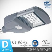 30W IP65 LED Eclairage autoroute avec le certificat de RoHS