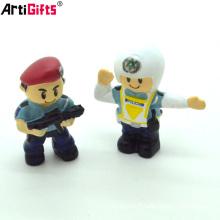 Wholesale personnalisé de haute qualité 3d dessin animé hot toys figurines