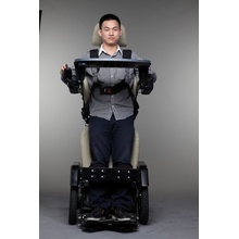standing electric power folding children care wheelchair