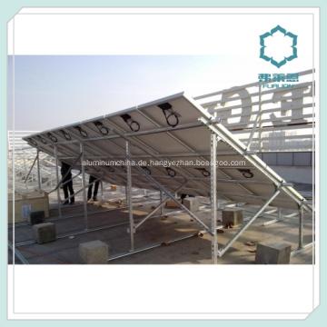 Kundenspezifische Aluminium Abschnitt für Solar-Panel-Schienen