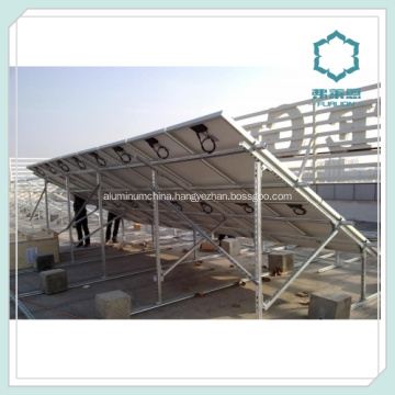 Customized Aluminum Section for Solar Panel Rails