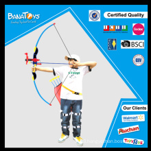 Plastic kid sport toy traditional bow and arrow