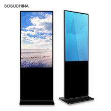 55 pouces LCD Publicity Player réseau au sol