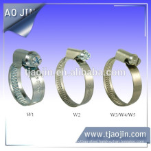 Germany Type Hose Clamp without Welding--9mm Bandwidth
