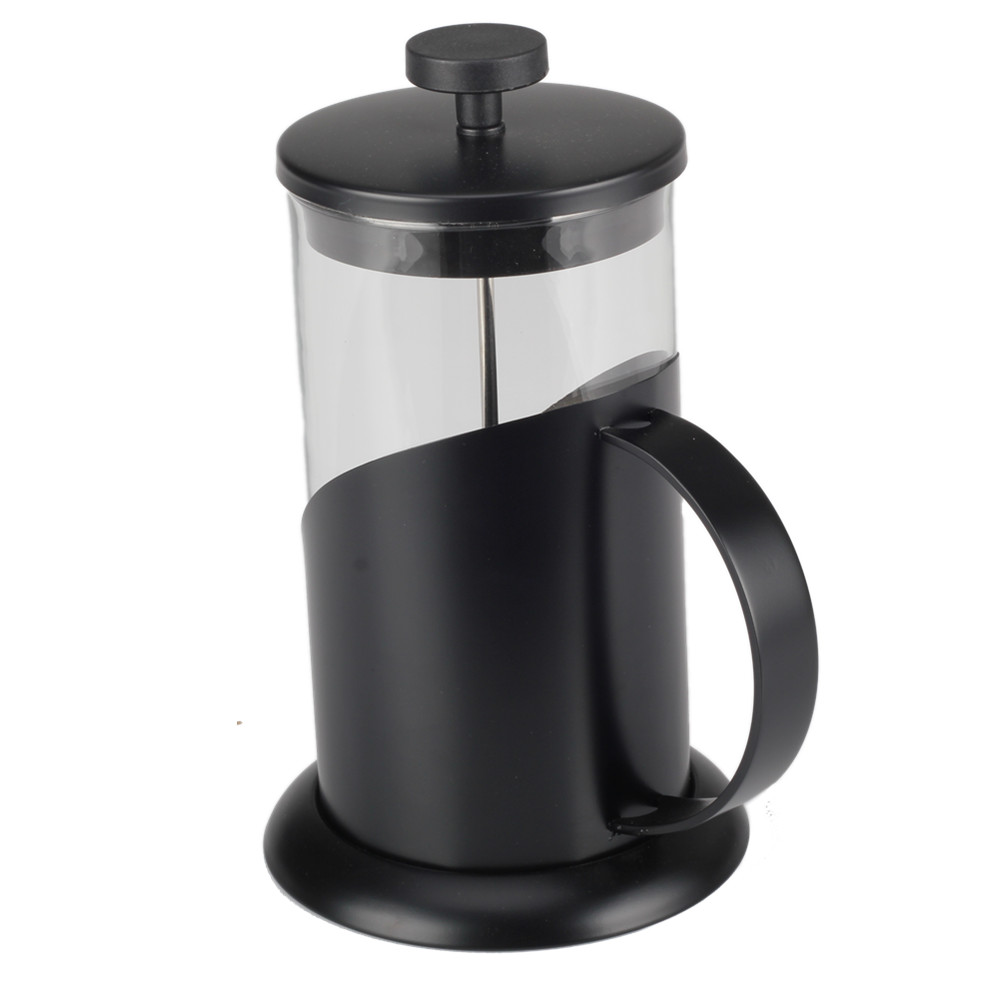With Perfect Sticker Painting Black French Press Kettle