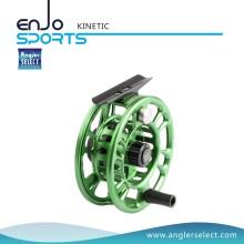Angler Selecione Verde CNC Fly Reel Fishing Reel Fishing Tackle com SGS (KINETIC 9-10)